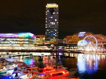 SYDNEY, AUSTRALIA - 10 GIUGNO 2018: Paesaggio urbano del festival vivo i fotografia stock libera da diritti