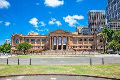 Public library of new south wales in Sydney, Australia. Royalty Free Stock Image