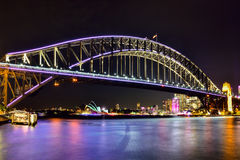 SYDNEY, AUSTRALIA - JUNE 5, 2015; Sydney Harbour Bridge and Ope Stock Images