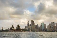 Sydney, Australia. Landscape view of Sydney CBD from Kirribilli area in North Sydney Royalty Free Stock Photos