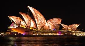 SYDNEY AUSTRALIA, MAJ, - 27,2016: Sydney opera żegluje l Fotografia Royalty Free
