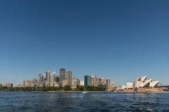 Opera House and Sydney skyline, Australia. Royalty Free Stock Photography