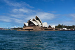 SYDNEY, AUSTRALIA - MARCH 22: Side view of Sydney's Opera House Royalty Free Stock Photo