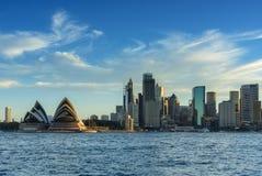 SYDNEY AUSTRALIA, Marzec 12,2017 -: Widok Sydney opera Sy Obrazy Royalty Free