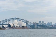 SYDNEY, AUSTRALIA - NOVEMBER 05, 2014: Sydney Opera House and Harbour Bridge. Australia Stock Image