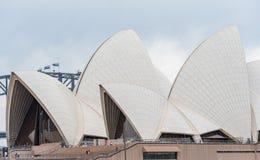 SYDNEY, AUSTRALIA - NOVEMBER 05, 2014: Sydney Opera House and Harbour Bridge. Australia. Stock Photos