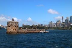 SYDNEY, AUSTRALIA - OCTOBER 16, 2018: Fort Denison, part of the Sydney Harbour National Park royalty free stock images