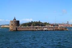 SYDNEY, AUSTRALIA - OCTOBER 16, 2018: Fort Denison, part of the Sydney Harbour National Park royalty free stock photos