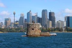 SYDNEY, AUSTRALIA - OCTOBER 16, 2018: Fort Denison, part of the Sydney Harbour National Park stock images