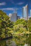 SYDNEY, AUSTRALIA - OCTOBER, 27: Shady park - a place for recrea Stock Photography