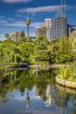 SYDNEY, AUSTRALIA - OCTOBER, 27: Shady park - a place for recrea Stock Photo