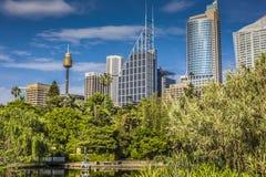 SYDNEY, AUSTRALIA - OCTOBER, 27: Shady park - a place for recrea Royalty Free Stock Photo