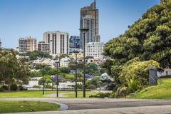 SYDNEY, AUSTRALIA - OCTOBER, 27: Shady park - a place for recrea Stock Photos