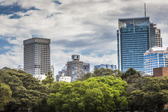 SYDNEY AUSTRALIA, PAŹDZIERNIK, -, 27: Ciemniutki park - miejsce dla recrea Fotografia Stock