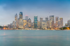 Sydney, Australia. Panoramic city skyline Royalty Free Stock Photo