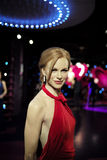 SYDNEY, AUSTRALIA - Sept 15, 2015 - A life-sized wax model of a celebrity at Madame Tussauds Sydney Stock Photos
