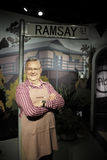 SYDNEY, AUSTRALIA - Sept 15, 2015 - A life-sized wax model of a celebrity at Madame Tussauds Sydney Royalty Free Stock Photography