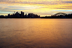 Sydney Australia Skyline. This image shows the Sydney Australia Skyline Stock Photography