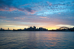 Sydney Australia Skyline. This image shows the Sydney Australia Skyline Royalty Free Stock Photos