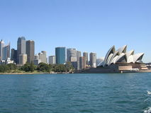 Sydney, Australia skyline and Royalty Free Stock Photo