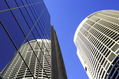 Sydney Australia Tall Buildings Skyscrapers Stock Photo