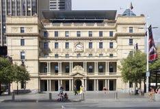 SYDNEY, AUSTRALIEN AM 7. APRIL: Der Gewohnheits-Wohnungsbau im April stockfotografie