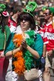 SYDNEY AUSTRALIEN - fördärva 17TH: Flicka i maskeradkläderdeltagande I Royaltyfria Bilder
