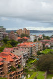SYDNEY, AUSTRALIEN - 16. Februar 2013: Kirribilli-Bezirk Stockbilder