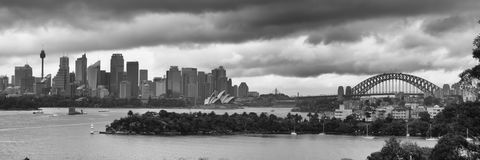 Sydney in the autumn of 2017 Stock Image