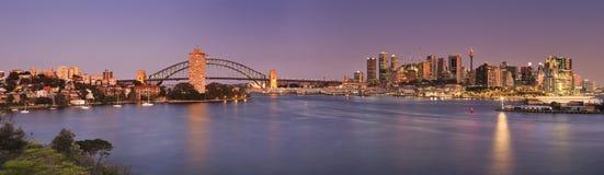 Sydney Balls Head Hor Set Royaltyfria Foton