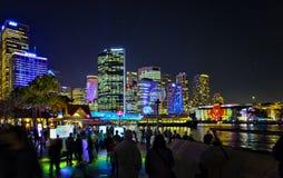 Sydney bis zum Night an klarem Festival 2012 Lizenzfreie Stockfotos