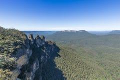 Sydney Blue Mountains. Australia Blue Mountains National Park Royalty Free Stock Images
