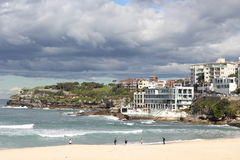 Bondi beach Sydney with Icebergs Royalty Free Stock Photo