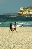 Sydney bondi na plaży Zdjęcia Royalty Free