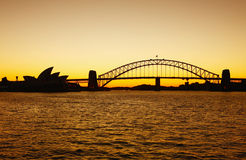 Sydney bridge Royalty Free Stock Photos