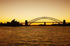 Sydney bridge Royalty Free Stock Photos