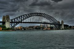 Sydney bridge Royalty Free Stock Images