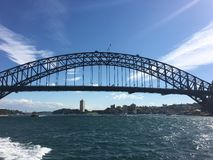 Sydney Bridge Stockbild