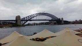 Sydney Bridge Imagen de archivo libre de regalías