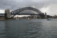 Sydney bridge in australia Royalty Free Stock Photos