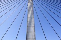 Sydney Bridge Cables Fotografia Stock