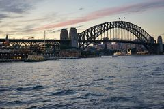Sydney Bridge Harbour Stock Images