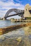 Sydney Bridge Milsons Vertical Royalty Free Stock Photography
