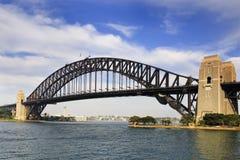 Sydney Bridge Side Day Stock Photos