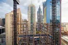 Sydney Building Construction Image libre de droits