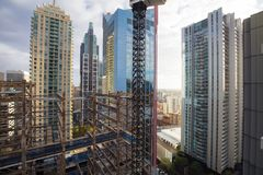 Sydney Building Construction Photos libres de droits
