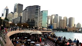Sydney Business Center image stock