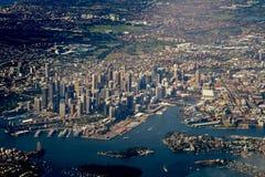 Sydney céntrica Imágenes de archivo libres de regalías