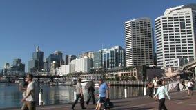 Sydney céntrica, Sydney, Australia almacen de metraje de vídeo