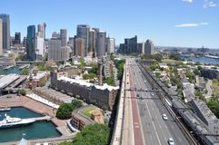 Sydney CBD Royalty Free Stock Image